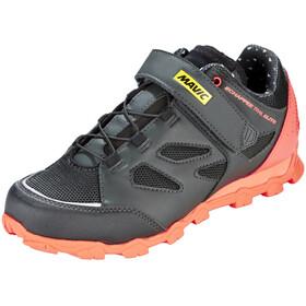 Mavic Echappée Trail Elite Shoes Women Pirate Black/Fiery Coral/Black